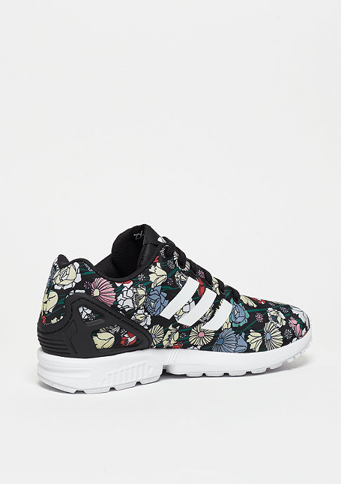 adidas Laufschuh ZX Flux black/flower
