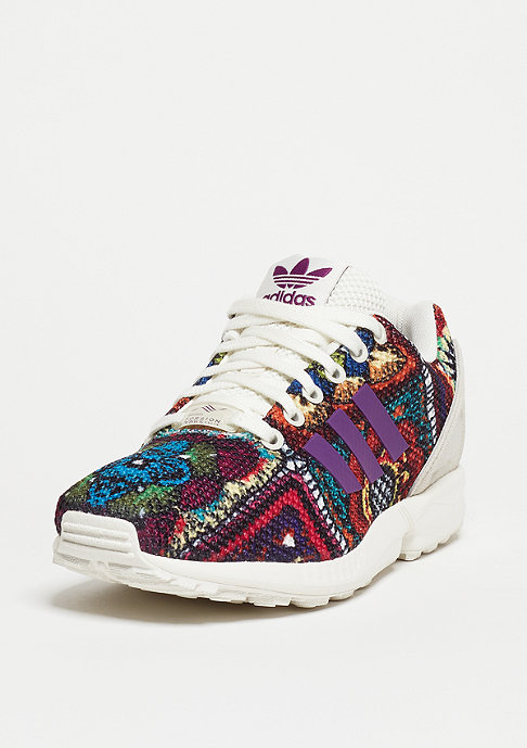 adidas ZX Flux off white/off white/mid grape