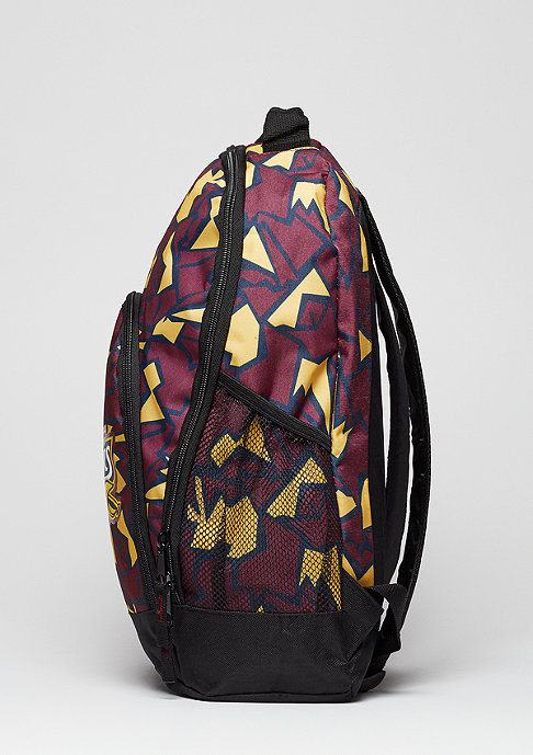 Forever Collectibles Rucksack Camouflage NBA Cleveland Cavaliers burgundy