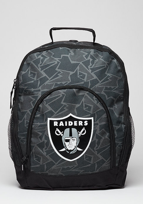 Forever Collectibles Rucksack Camouflage NFL Oakland Raiders black