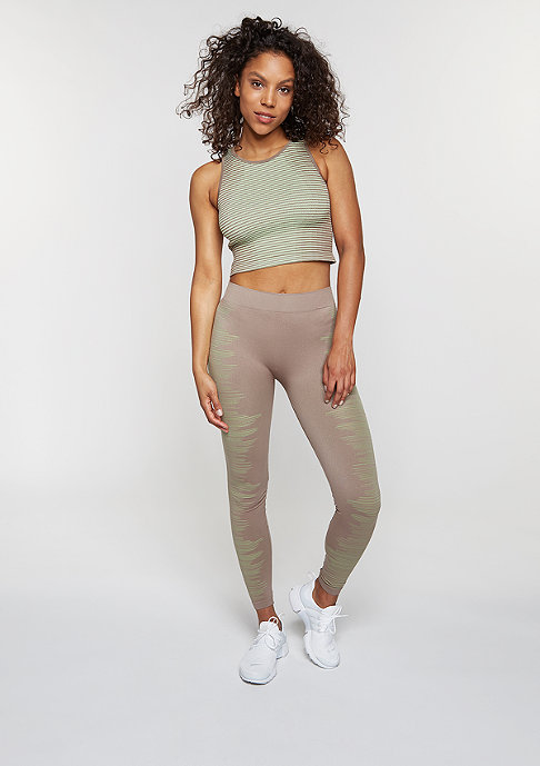 SNIPES Tanktop Sports Melange grey/light green