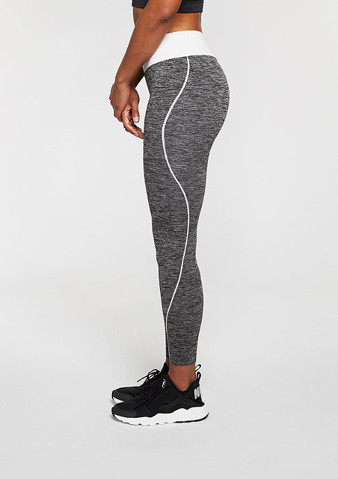 SNIPES Leggings Melange Tight black