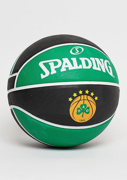 Spalding EL Team Panathinaikos Athen black/green