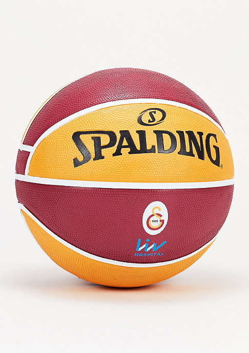 Spalding EL Team Galatasaray Istanbul red/yellow