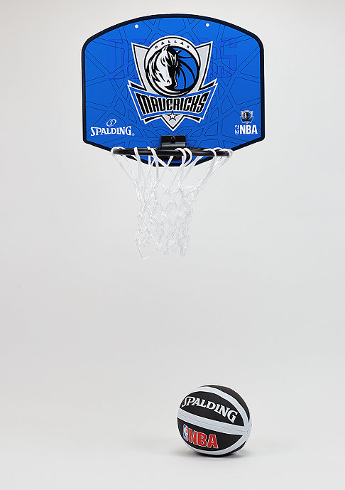 Spalding NBA Miniboard Dallas Mavericks blue/grey