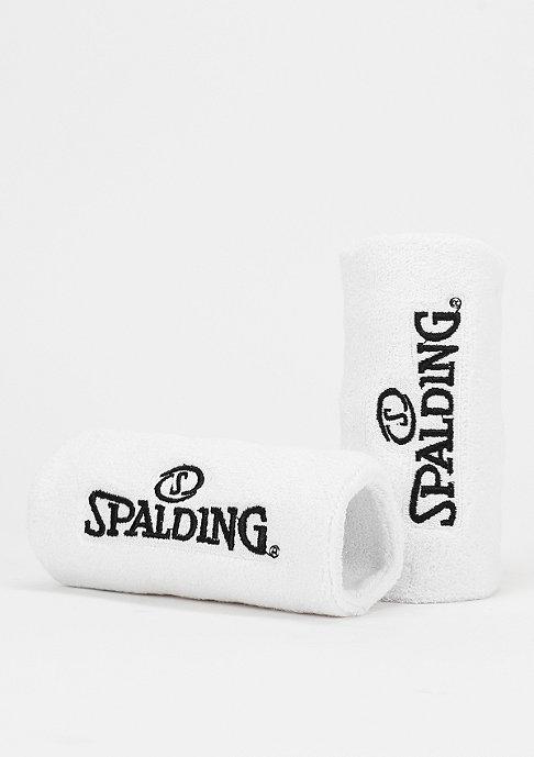 Spalding Sweatband 2er white