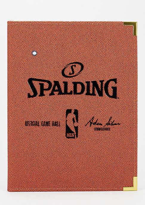Spalding NBA Writing Case A4 orange