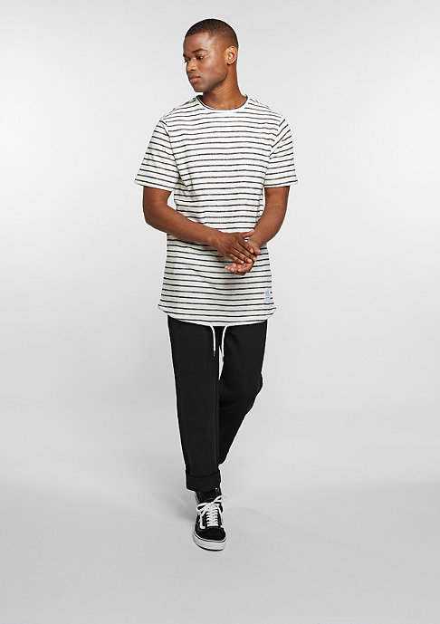 DRMTM T-Shirt Striped black/white