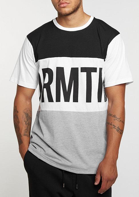 DRMTM DRMTM Tee Block heather grey/white