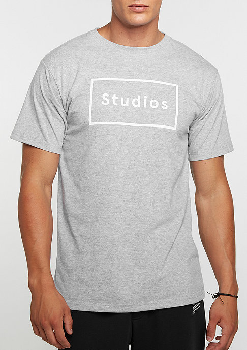 DRMTM DRMTM Tee Studios heather grey/white