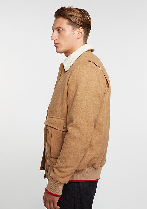 Flatbush Wool Jacket beige