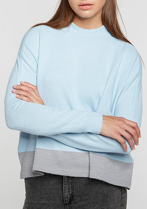 Flatbush Sweatshirt Knit Turtleneck light blue