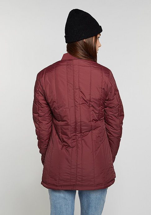 Flatbush Quilted Blouson bordeaux