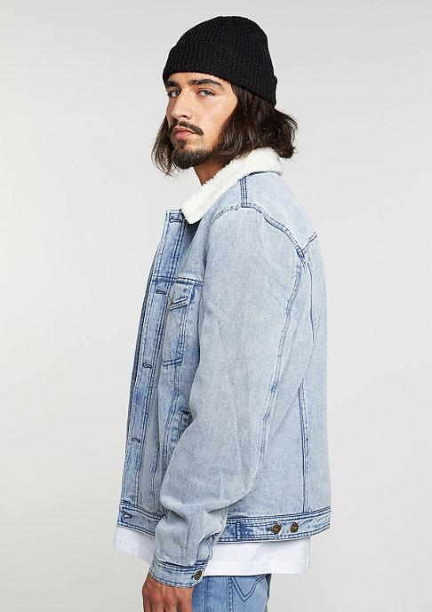 Flatbush Denim Teddy Jacket blue