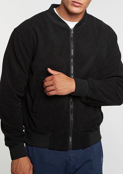 Flatbush Übergangsjacke Fleece Blouson black