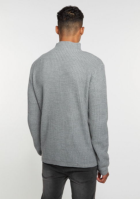 Flatbush Knit Turtleneck grey