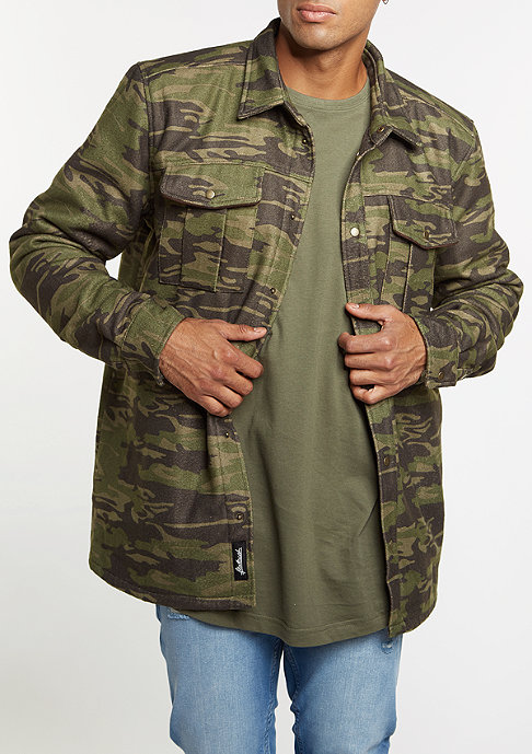 Flatbush Shirt Jacket camouflage