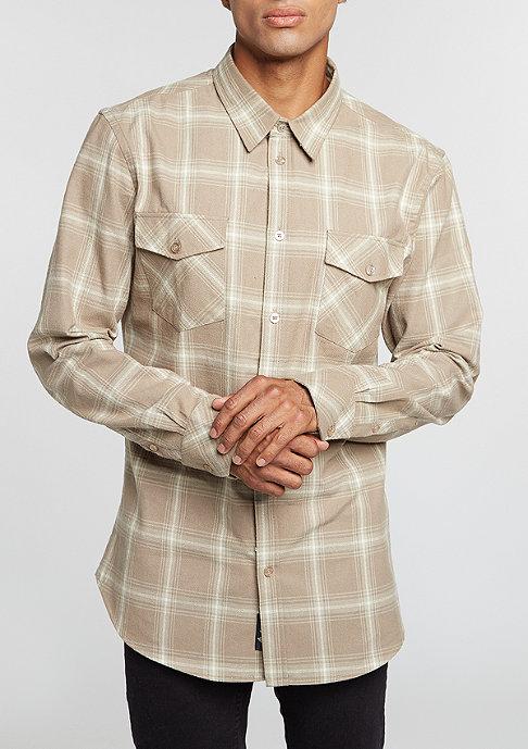Flatbush Flannel Shirt beige/taupe