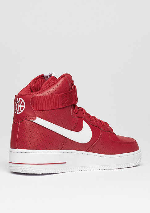 NIKE Air Force 1 High 07 gym red/white/white
