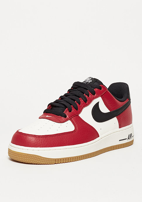 NIKE Basketballschuh Air Force 1 gym red/black/gym light brown