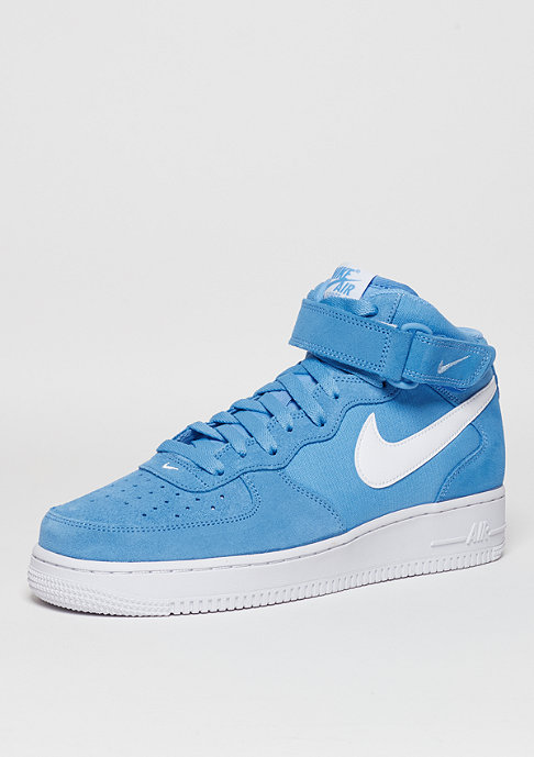 NIKE Basketballschuh Air Force 1 Mid 07 university blue/white/white