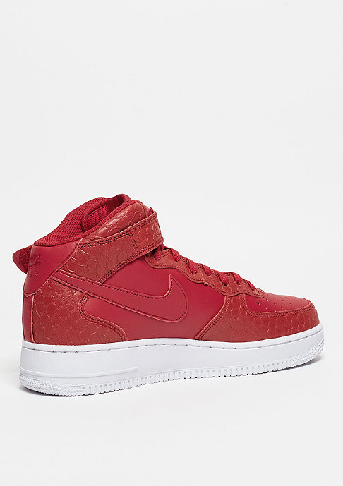 NIKE Air Force 1 Mid 07 LV8 gym red/gym red/white