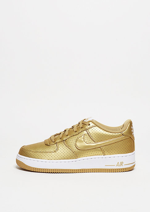 NIKE Air Force 1 LV8 metallic gold/metallic gold/summit white