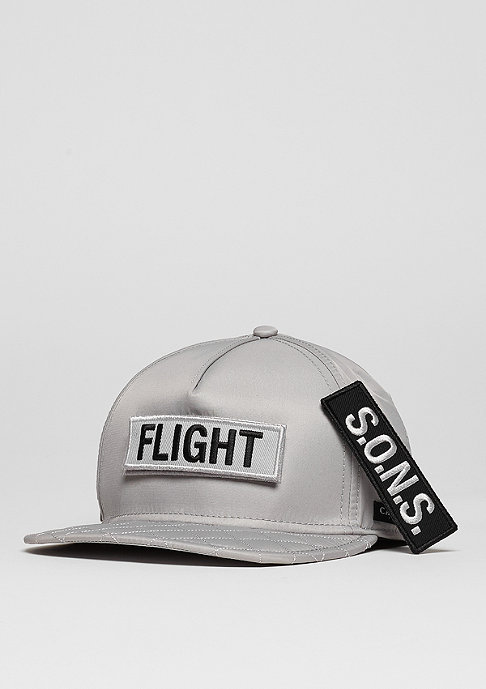 Cayler & Sons C&S CAP BL Flight grey/orange
