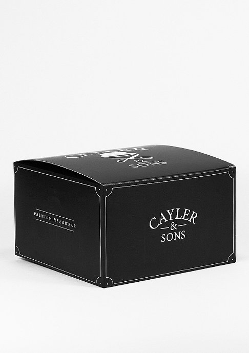 Cayler & Sons Snapback-Cap C&S CAP BL Zipped black/gold