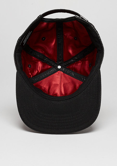 Cayler & Sons Snapback-Cap C&S CAP BL Lockdown black fishcale/red