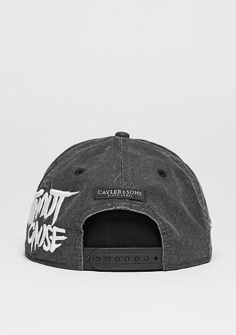 Cayler & Sons Snapback-Cap BL Rebel vintage black/woodland/white