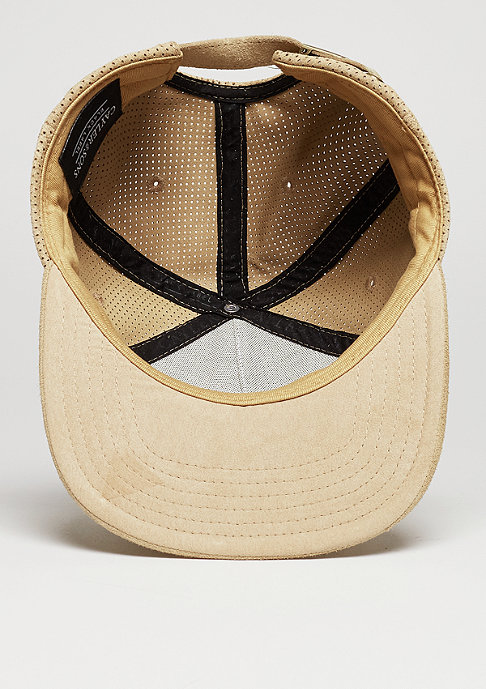 Cayler & Sons C&S CAP BL Apache brown suede/gold