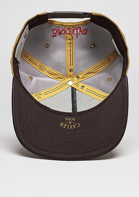 Cayler & Sons Snapback-Cap WL Briangle honey suede/ dark brown