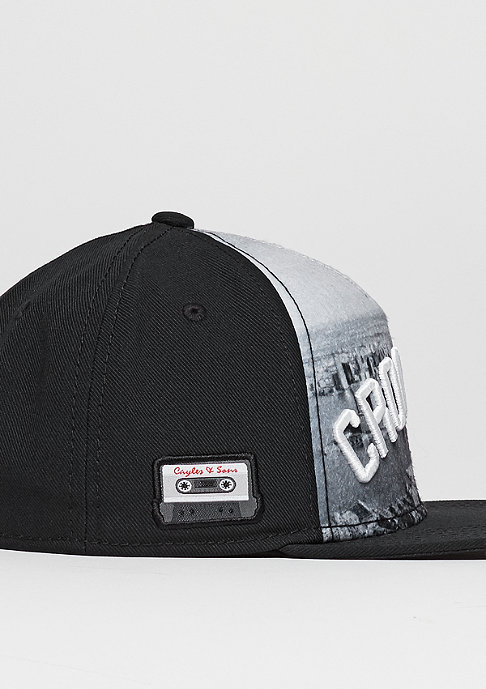 Cayler & Sons C&S Cap WL Crooklyn Skyline black/white