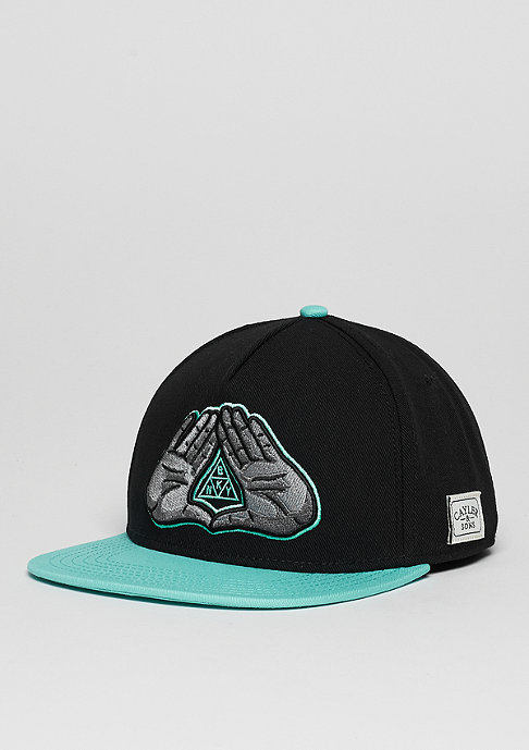 Cayler & Sons C&S Cap WL BKNY black/mint/grey