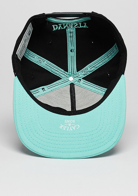 Cayler & Sons Snapback-Cap C&S Cap WL BKNY black/mint/grey