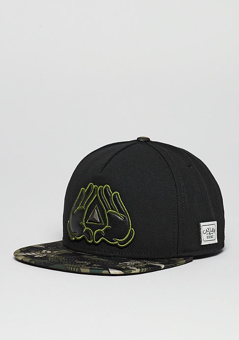 Cayler & Sons C&S Cap WL BKNY black/camo flowers