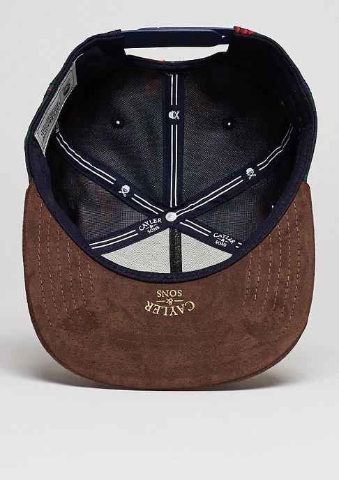 Cayler & Sons C&S CAP WL Allo navy/brown/mc