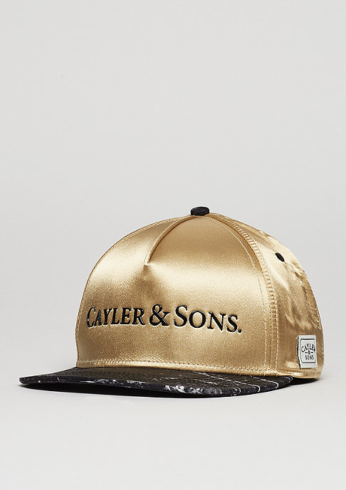 Cayler & Sons C&S CAP WL Infinity gold/black marble