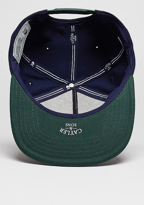 Cayler & Sons Snapback-Cap WL Cali Blocks navy/forest green/mc