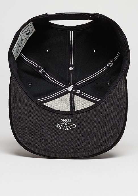 Cayler & Sons C&S Cap WL ASAP Knows black/white/grey