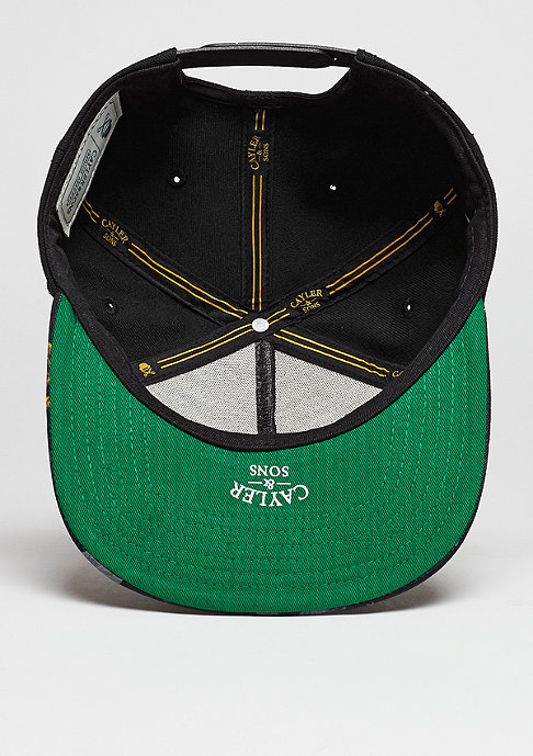 Cayler & Sons C&S Cap WL Paris Jaune black/yellow/green