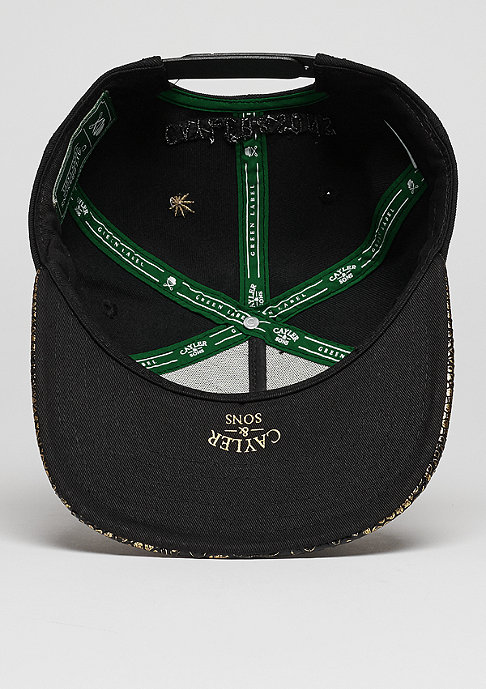 Cayler & Sons C&S CAP GL A Dam´s Finest black/gold/white