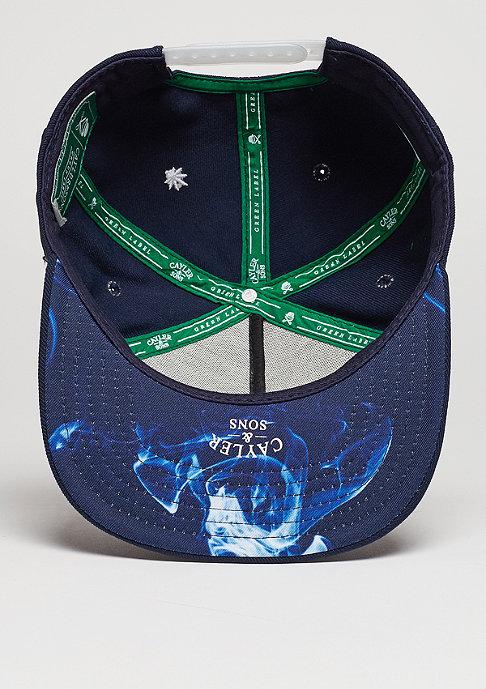 Cayler & Sons Snapback-Cap GL Not Stupid navy/white