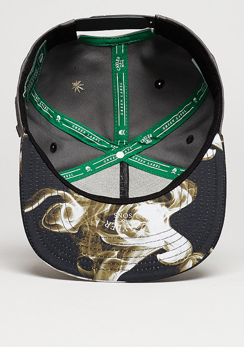 Cayler & Sons Snapback-Cap GL I´m Faded dark grey/black/gold