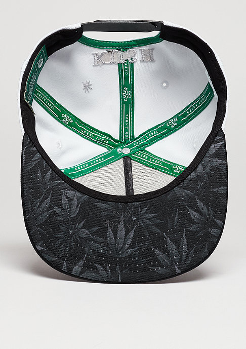 Cayler & Sons C&S CAP GL Lazer Kush white/black