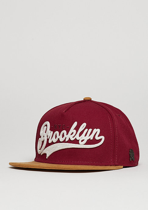 Cayler & Sons Snapback-Cap CL BK Fastball maroon/brown/white