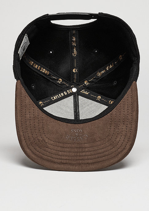 Cayler & Sons C&S CAP CL BK Fastball black/brown