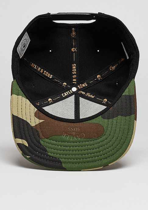Cayler & Sons C&S Cap CL Garage black/woodland/olive