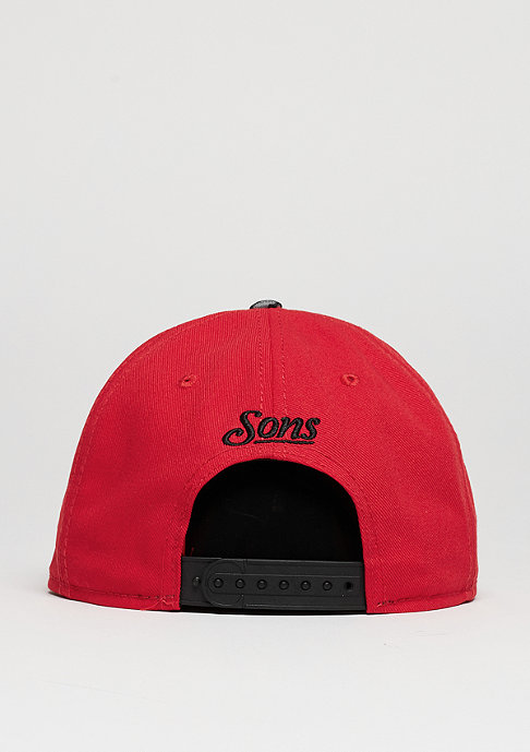 Cayler & Sons Snapback-Cap GLD Cee Classic red/black/grey